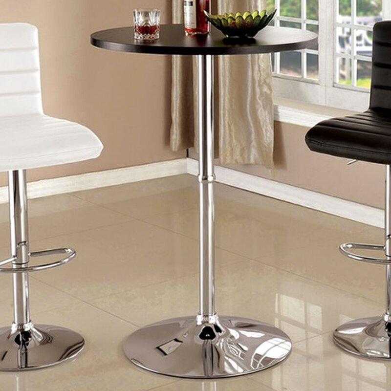 Orren Ellis Analia Bar Height Dining Table Wayfair