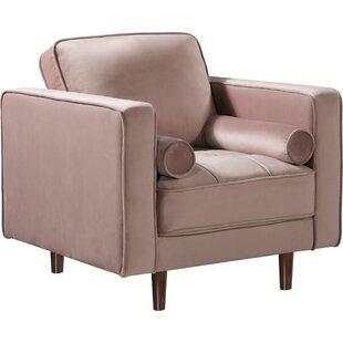 Pamula Velvet Armchair