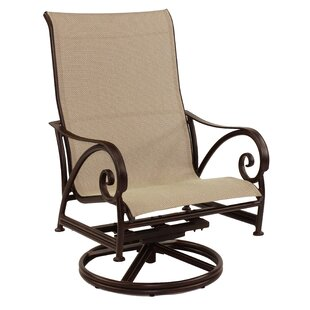 Lucerne Sling Swivel Rocking Chair