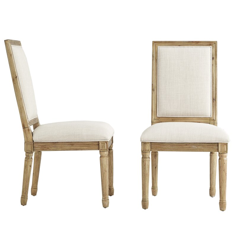 Lachance Rectangular Upholstered Dining Chair.