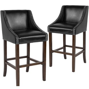Beau Bar Stool (Set of 2) Alcott Hill