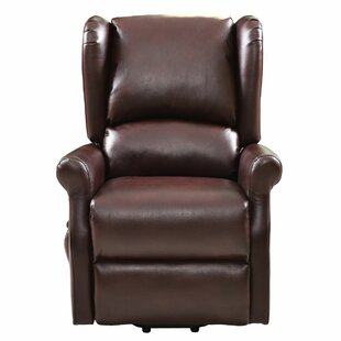 Ryker Electric Lift Power Recliner Red Barrel Studio