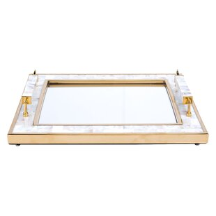 Iulian Horn Handle Accent Tray