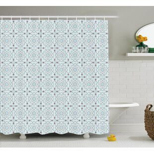 Reviews Baudoin Oriental Moroccan Art Shower Curtain By Latitude Run