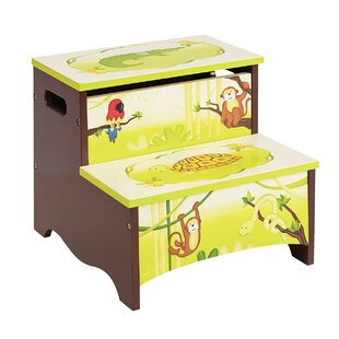 Dorian Kids Step Stool with Storage by Zoomie Kids