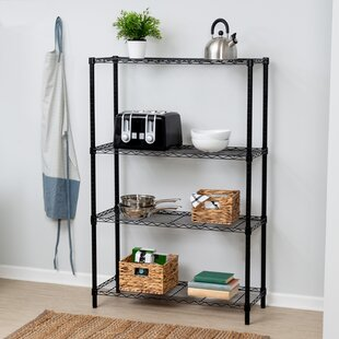 Wayfair Basics 54H x 36W 4 Shelf Shelving Unit By Wayfair Basics™