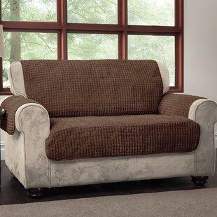Shop Box Cushion Loveseat Slipcover by Winston Porter