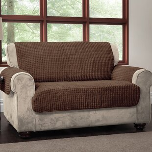 Comparison Box Cushion Loveseat Slipcover by Winston Porter Reviews (2019) & Buyer's Guide