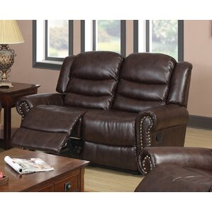 Wausau Reclining Loveseat by Beverly Fine Furniture