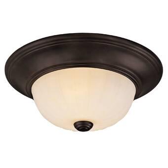 Efficientlighting 1 Light 11 75 Simple Bowl Flush Mount