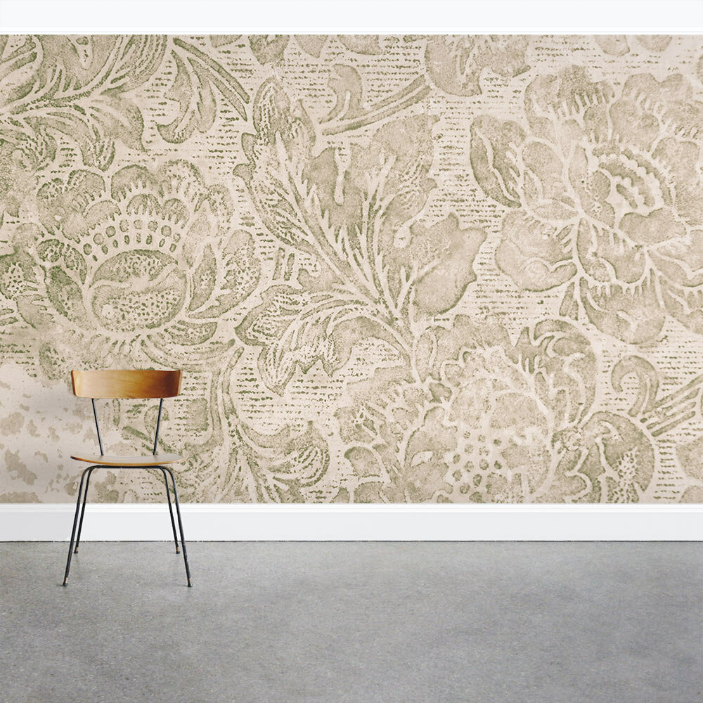 Wallums Wall Decor Vintage Fleur De Lis 8 X 144 3 Piece Wall Mural Set Wayfair