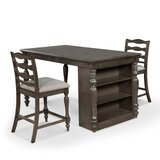 Traci 3 - Piece Counter Height Dining Set by Canora Grey