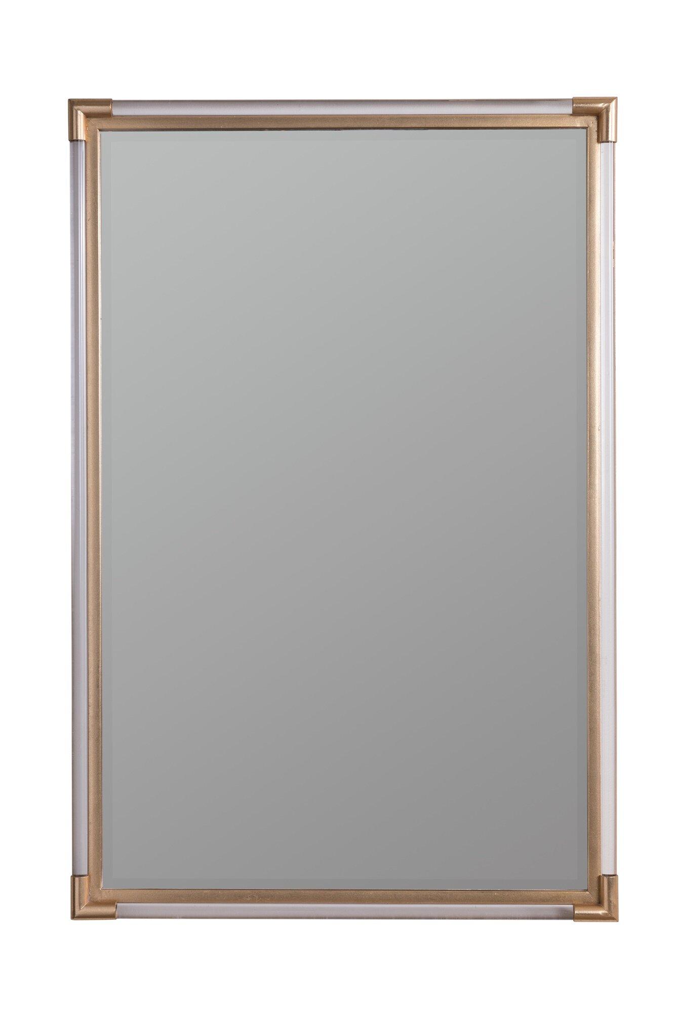 Cooper Classics Hayley Glam Beveled Bathroom Vanity Mirror Reviews Perigold