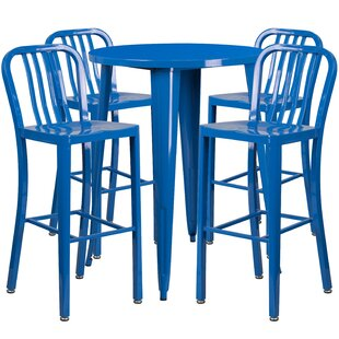 Posey 5 Piece Bar Height Dining Set