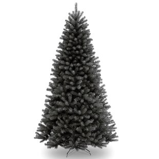 north valley black spruce artificial christmas tree with stand - Christmas Tree Black