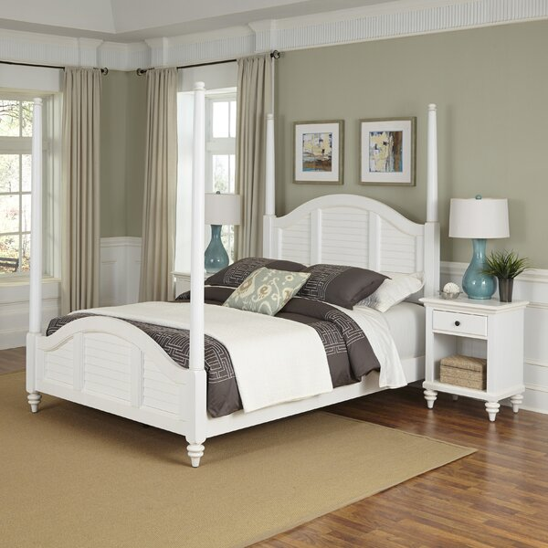 Marvelous Beachcrest Home Harrison Four Poster 3 Piece Bedroom Set With Drawers |  Wayfair