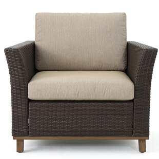Midland Patio Chair with Cushions (Set of 2)