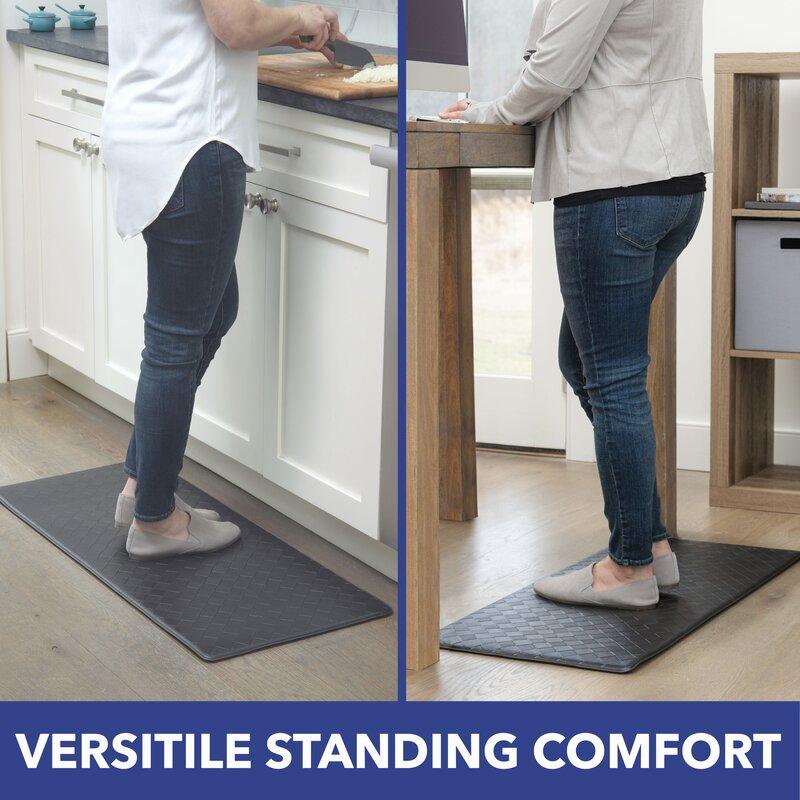 Home Dynamix Gentle Step Anti Fatigue Mat Reviews Wayfair