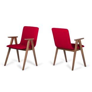 Gerke Upholstered Dining Chair (Set of 2) Bloomsbury Market