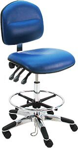 Ergonomic Adjustable ESD Anti Static Swivel Drafting Chair