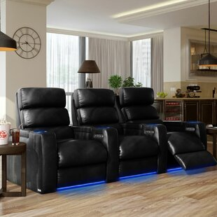 Home Theater Row Seating (Row of 3) by Winston Porter