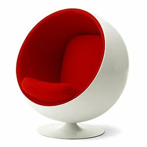 Swivel Balloon Chair by C2A Designs