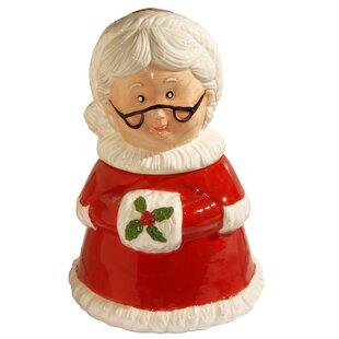 Mrs. Claus Cookie Jar