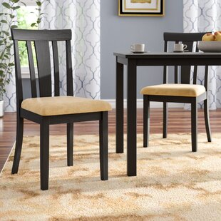 Affordable Oneill Slat Back Side Chair (Set of 2) by Andover Mills Reviews (2019) & Buyer's Guide