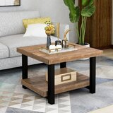 Soderberg Solid Wood Coffee Table with Storage by Union Rustic