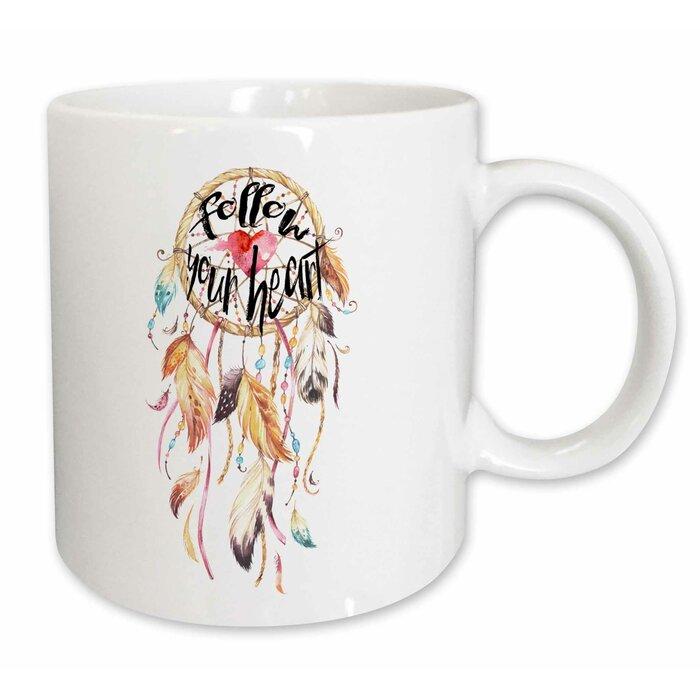 Follow Your Heart Dream Catcher Coffee Mug