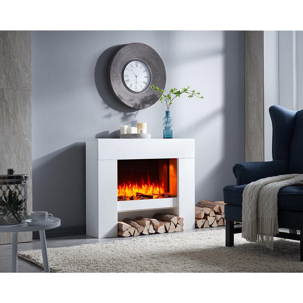 Belfry Heating Tyson Wall Mounted Electric Fire Suite Wayfair Co Uk