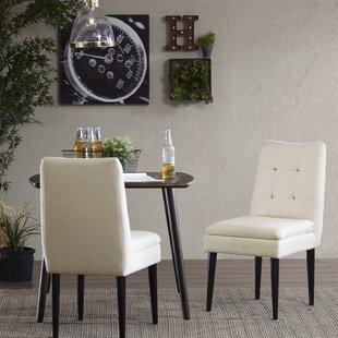 Winkler Upholstered Dining Chair (Set of 2) Alcott Hill