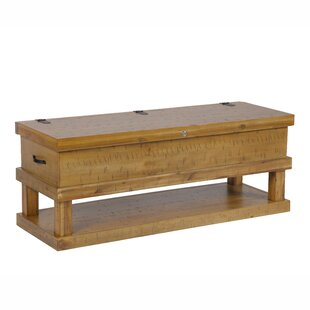 Vogler Coffee Table with Storage Millwood Pines
