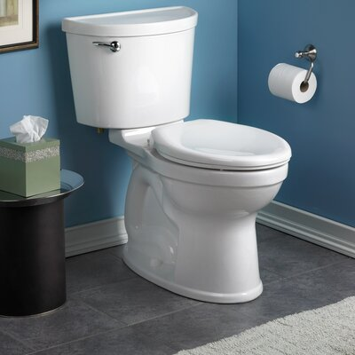 American Standard Champion Pro1.6 GPF Elongated Two-Piece Toilet (Seat Not Included)