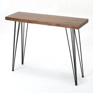 Renee Natural Finish Firwood Console Table By Trent Austin Design