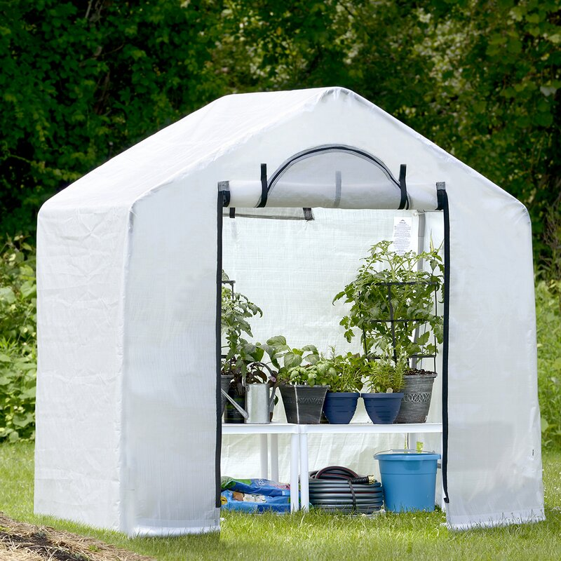 ShelterLogic GrowIt Backyard 6 Ft. W x 4 Ft. D Greenhouse 70208