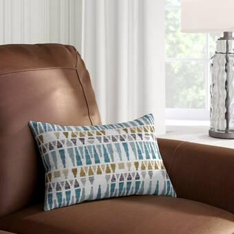Hashtag Home Lorenz 100 Cotton Geometric Lumbar Pillow Reviews Wayfair