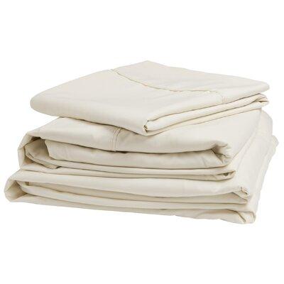 Denver Mattress 300 Thread Count 100% Cotton Sheet Set Colour: Ivory, Size: Queen