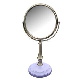 Shop For Alchemist Freestanding Bath Magnifying Makeup Mirror ByWinston Porter