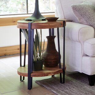 Best Reviews Tindal Live Edge End Table By Union Rustic