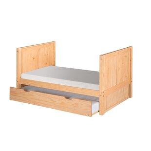 Oakwood Twin Panel Bed by Harriet Bee