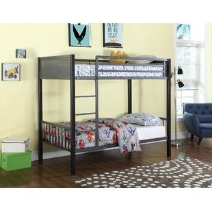 West Stockbridge Twin Over Twin Bunk Configuration Bed with Ladder