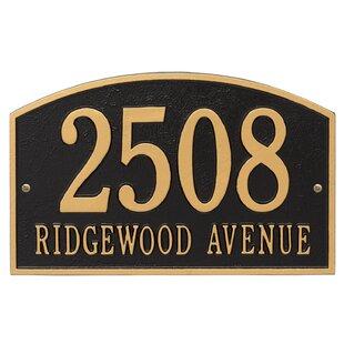 baebac80a71a Address Plaques & House Numbers | Joss & Main