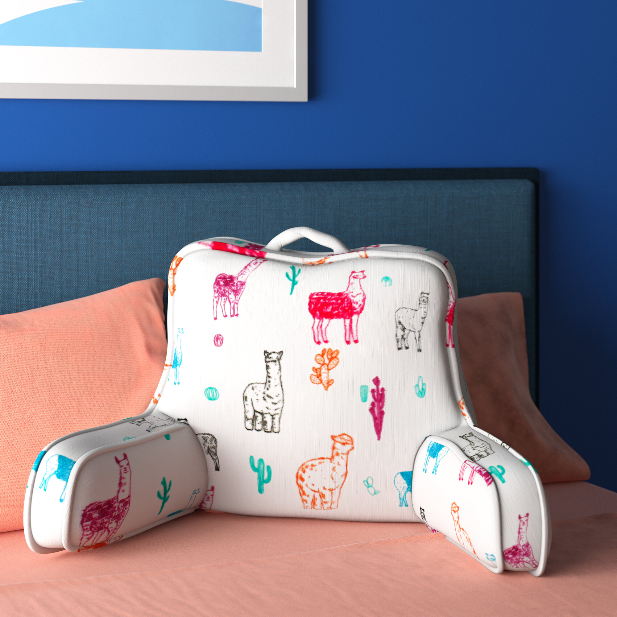 Picture of: Backrest Pillows You Ll Love In 2020 Wayfair