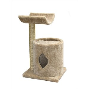 Cat Cave with Sisal Post and Cradle