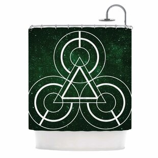 'Emerald City' Digital Single Shower Curtain