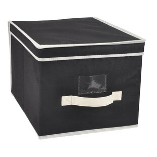 Savings Franklin Storage Fabric Box (Set of 2) By Sunbeam