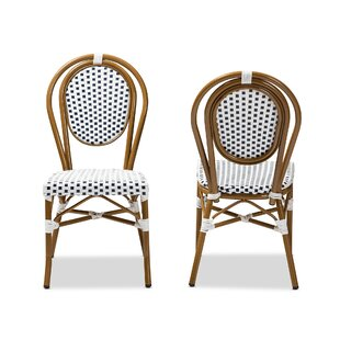 ZanowitZ Stacking Patio Dining Chair (Set of 2)