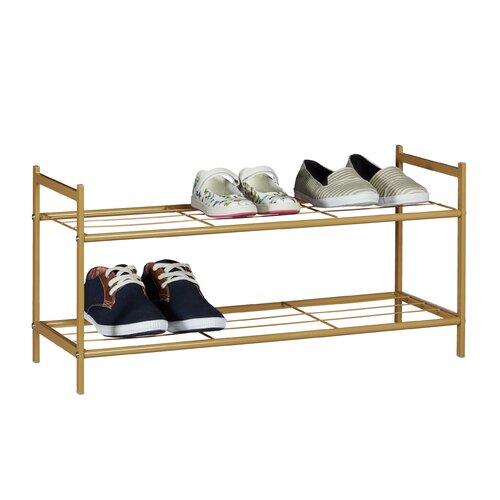 Schuhregal   Flur & Diele > Schuhschränke und Kommoden > Schuhregal   Schwarz/braun/weiß   Relaxdays