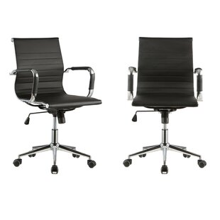 Ribbed Conference Chair (Set of 2)